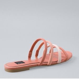 WHBM Strappy Sandals Memory Foam
